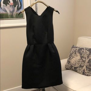 Black open back with bow Kate Spade dress
